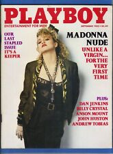 Image for Playboy Magazine ~ September 1985 Madonna ~ Complete w/ Centerfold