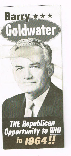 Image for Barry Goldwater 6 sided Brochure (1964)