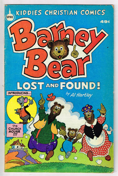 Image for Barney Bear:Lost and Found;Spire,Christian comics