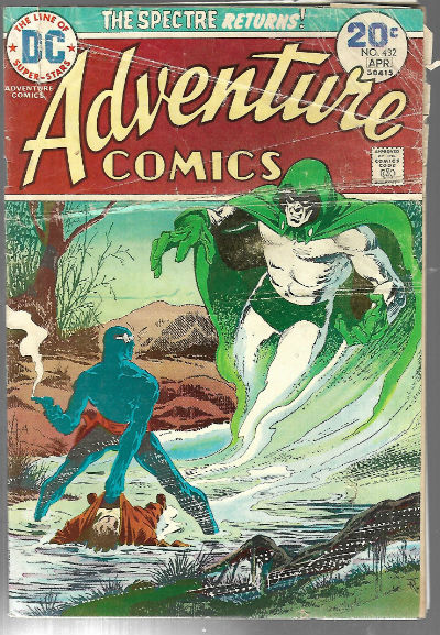 Image for Adventure comics #432-Jim Aparo