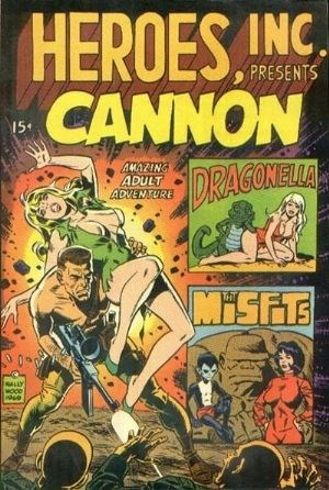 Image for HEROES, INC. PRESENTS CANNON #1     1969 |   VOLUME 1 |   WALLY WOOD