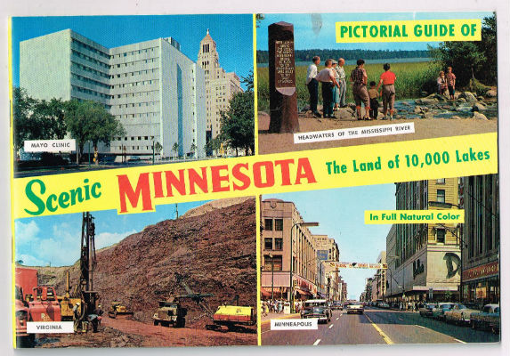 Image for Pictorial guide of scenic Minnesota:the land of 10,000 lakes,in full natural color