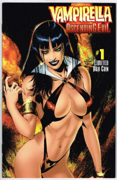 Image for VAMPIRELLA ASHCAN: ASCENDING EVIL #1    1997 | ONE-SHOT | HARRIS