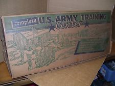Image for Marx Army Training Center in original box by Marx (1950s)