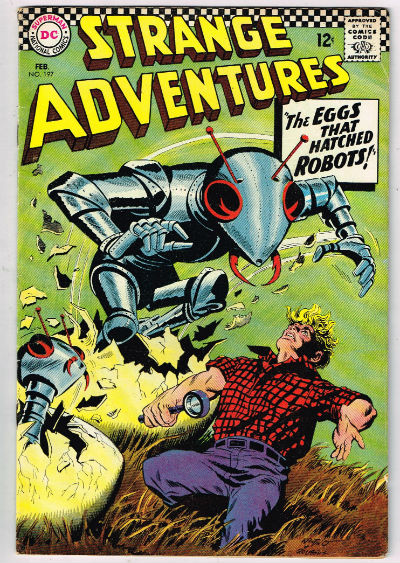 Image for STRANGE ADVENTURES #197