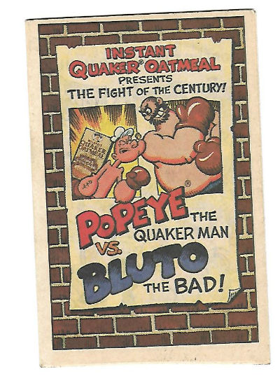 Image for Instant Quaker oatmeal presents:Popeye the Quaker man vs.Bluto the Bad!