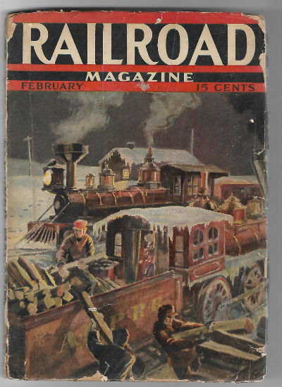 Image for Railroad Magazine February 1938 Vol. 23 No 3