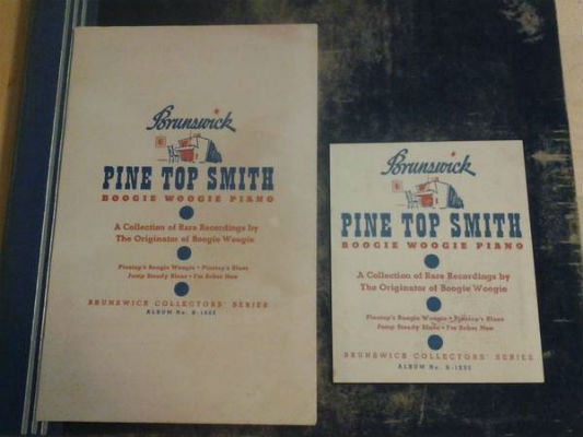 Image for Pine-Top Smith:Bogie Woogie Piano;Brunswick collector's series;2 disc set