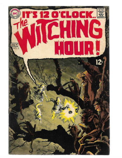 Image for WITCHING HOUR #3   1969-1978 |  VOLUME 1 |  DC