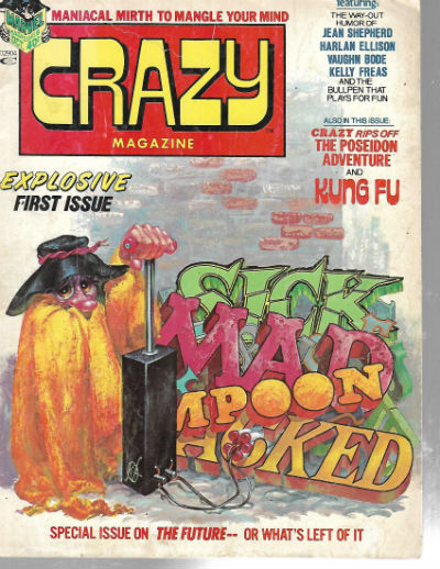 Image for CRAZY (MAGAZINE) #1   1973-1983 |  VOLUME 1 |  MARVEL