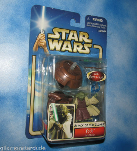Image for Yoda-Jedi-Master-With-Force-Action-3-3-4-Brand-New-Nice-Card