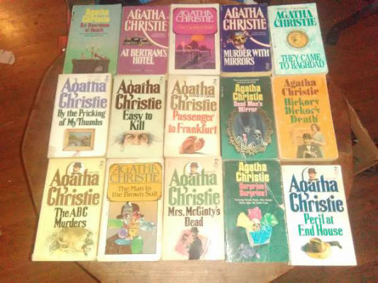 Image for 26 paperback mysteries by Agatha Christie