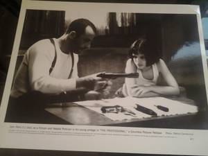 "Image for Natalie Portman Jean Reno Leon The Professional 10"" x 8"" Glossy Photo Print"