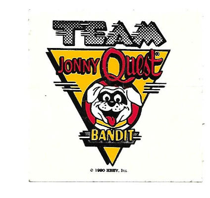 Image for very smal bandit(Jonny Quest) sticker