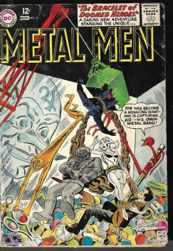 Image for Metal Men #4 (1963)