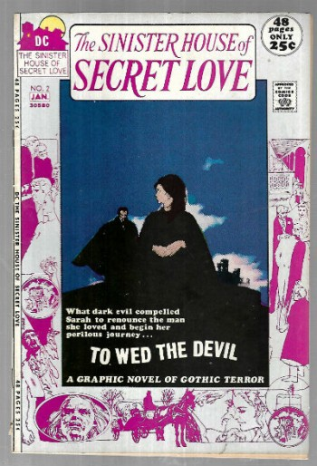 Image for Sinister House of Secret Love (1971)# 2