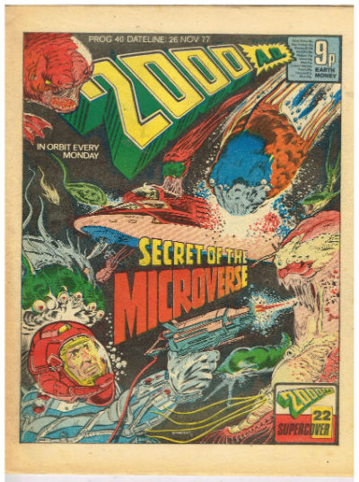 Image for 2000 AD UK Comic Magazine Prog 39-prog 41 - Nov.19th-Dec.10th, 1977 - JUDGE DREDD Great early stories