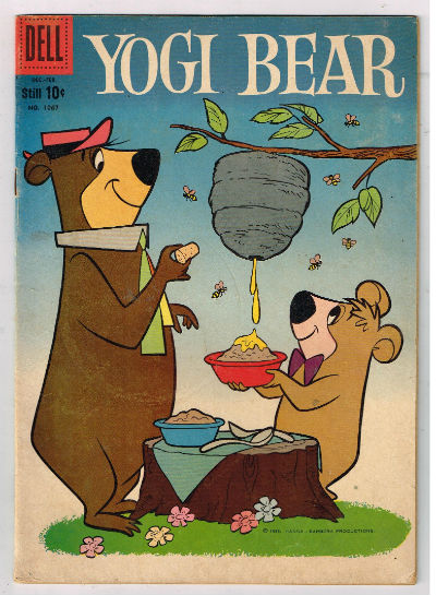 Image for Dell-Four-Color-1067-YOGI-BEAR-Dec-Feb-1959-vintage-comic