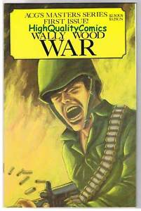 Image for WALLY WOOD WAR #1, VF, ACG, WWII, D-Day, 1995, more War in store