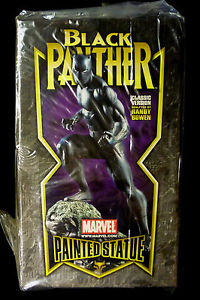 Image for Bowen Designs Black Panther Marvel Comics Classic Statue New From 2004  #948/1000