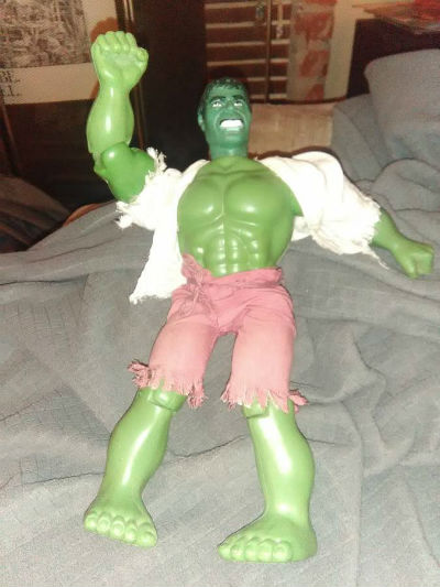 "Image for VINTAGE 1979 MEGO 12"" INCREDIBLE HULK ACTION FIGURE MARVEL'S COMIC BOOK GROUP"
