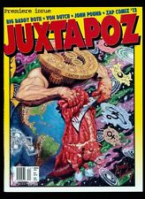 JUXTAPOZ MAGAZINE No. 1 Winter 1994 Robert Williams ART CULTURE