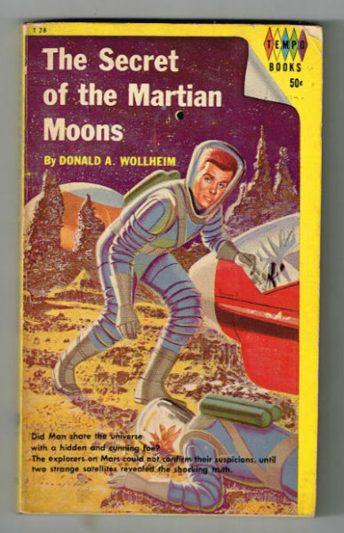 Image for The Secret of the Martian moons