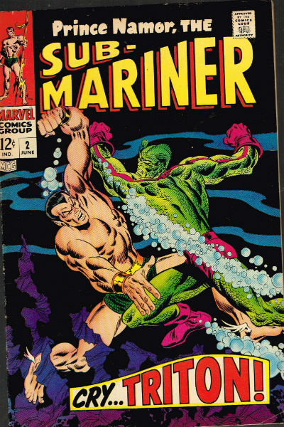 Image for The Sub-Mariner,Prince Namor;#2