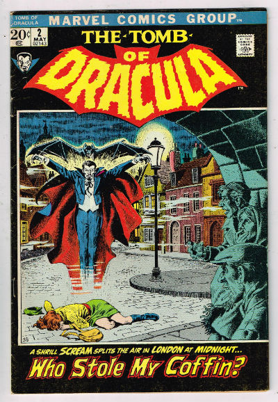 Image for TOMB OF DRACULA #2    1972,May| VOLUME 1 | MARVEL