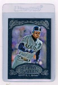 Image for Ken Griffey jr.Rare blue Gypsy Queen 454/599