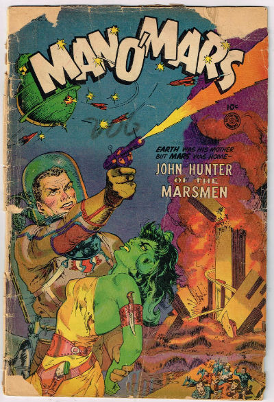 Image for MAN O' MARS #1    1953 | ONE-SHOT | FICTION HOUSE