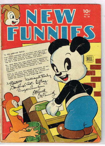 Image for NEW FUNNIES (TV FUNNIES) #101    1945,july | VOLUME 1 | DELL