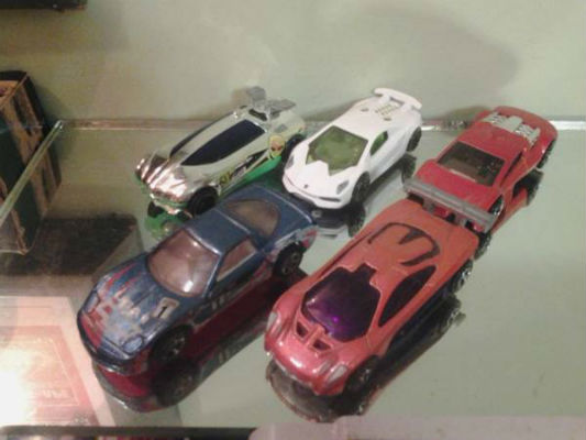 Image for 5 Hot wheels super=cars