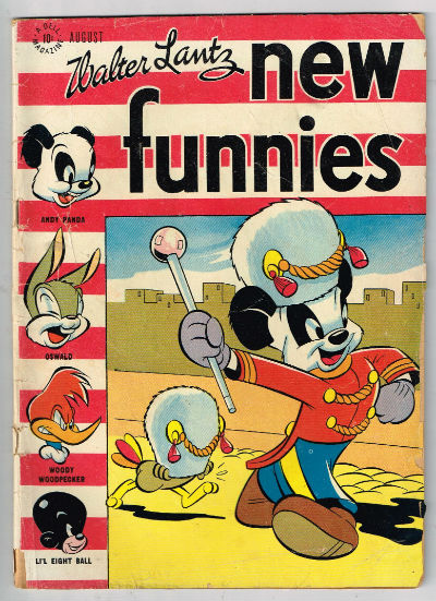 Image for Walter Lantz;New Funnies #126  Aug.,1947