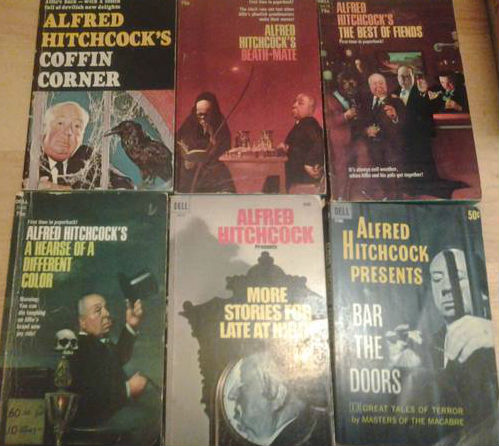 Image for Lot of 6 Menacing pb books edited by Alfred Hitchcock