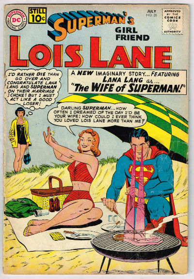 Image for SUPERMAN'S GIRLFRIEND LOIS LANE #26    1961,July | VOLUME 1 | DC