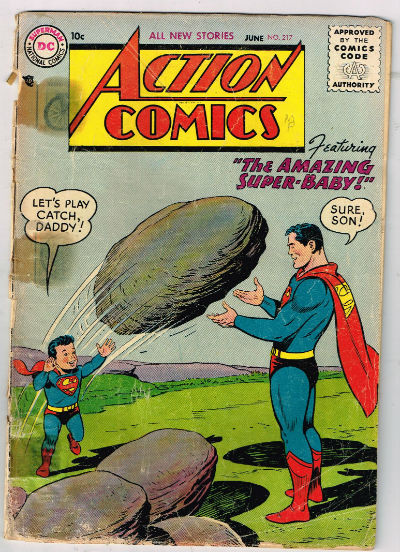 Image for ACTION COMICS #217    1956,June | VOLUME 1 | DC