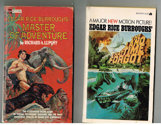 "Image for 5 Novels by Edgar Rice Burroughs on ACE;""The Land that time forgot"",""Edgar Rice Burroughs:Master of Adventure by Richard Lupoff"",""the Lad and the Lion"",The Outlaw of Torn"",The Monster men"""