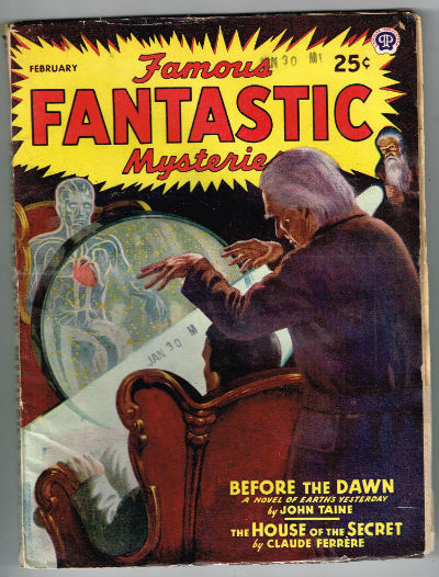 Image for Famous Fantastic Mysteries - February, 1946