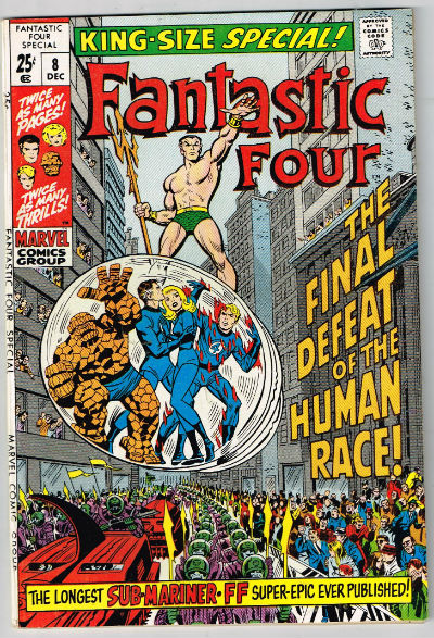 Image for FANTASTIC FOUR SPECIAL #8    1970 | VOLUME 1 | MARVEL