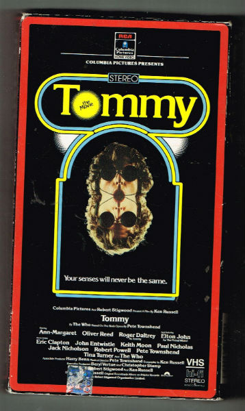 Image for Tommy [VHS]  Roger Daltrey (Actor), Ann-Margret (Actor) Rated: PG (Parental Guidance Suggested) Format: VHS Tape