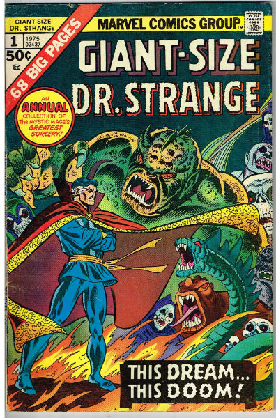 Image for Giant-Size Dr. Strange #1, (Comic - 1975) (Vol. 1) Comic
