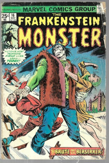 Image for The Frankenstein monster #16