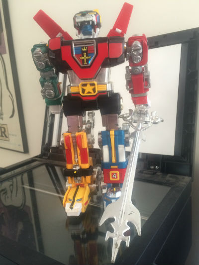 Image for Vintage Original 1981 Voltron Die Cast GB-36 Y&K Lion 11in. RARE!