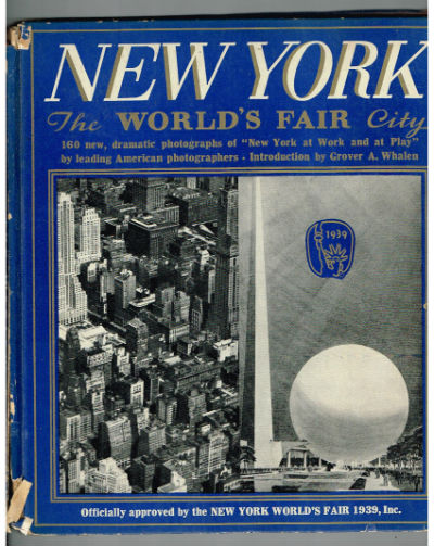 Image for New York The World's Fair City-signed by Frank Monaghan
