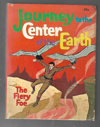 Image for Journey to the Center of the Earth: the Fiery Foe