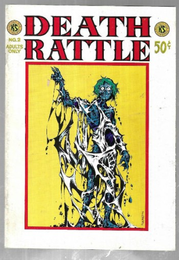 Image for DEATH RATTLE Vol. 1 No. 2 (1973). First printing.