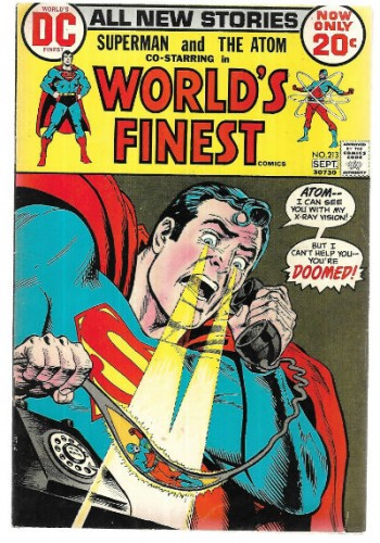 Image for World's Finest 213 Starring Superman and the Atom 1972