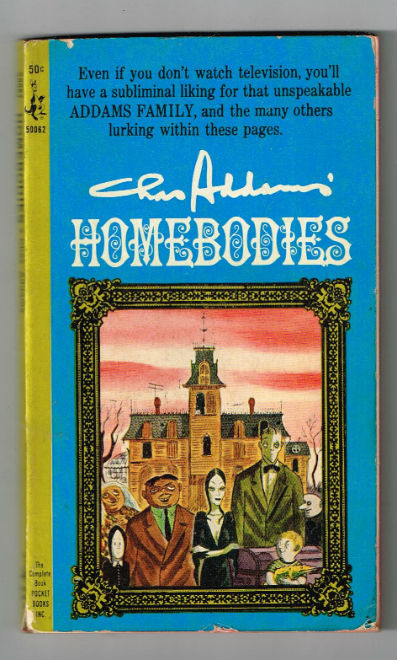 Image for Homebodies by Chas Addams