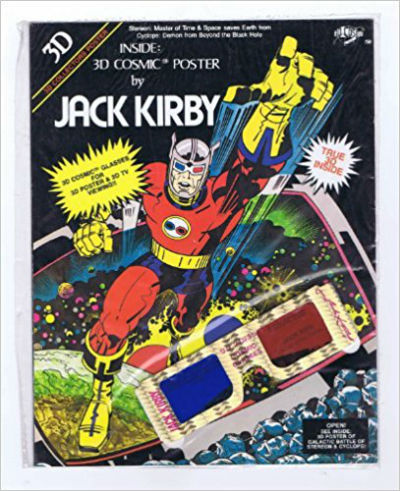 Image for Jack Kirby 3D Cosmic Poster  vintage 1982 Published by 3D Cosmic publications Comics – 1982